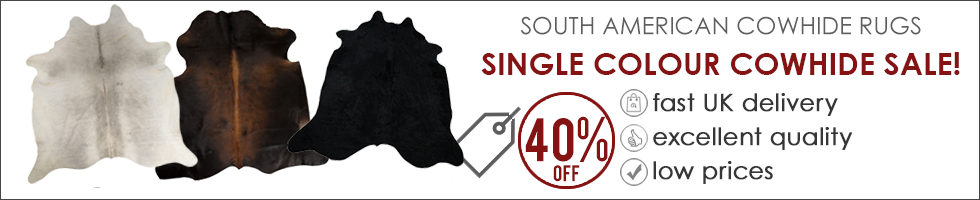 Single Colour Cowhide Sale