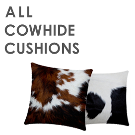 All Cowhide Cushions