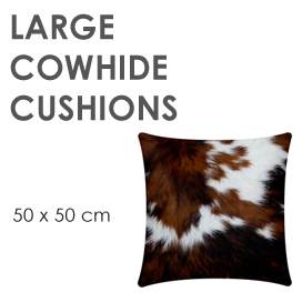 Large Size Cowhide Cushions