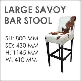 Large Savoy Bar Stool
